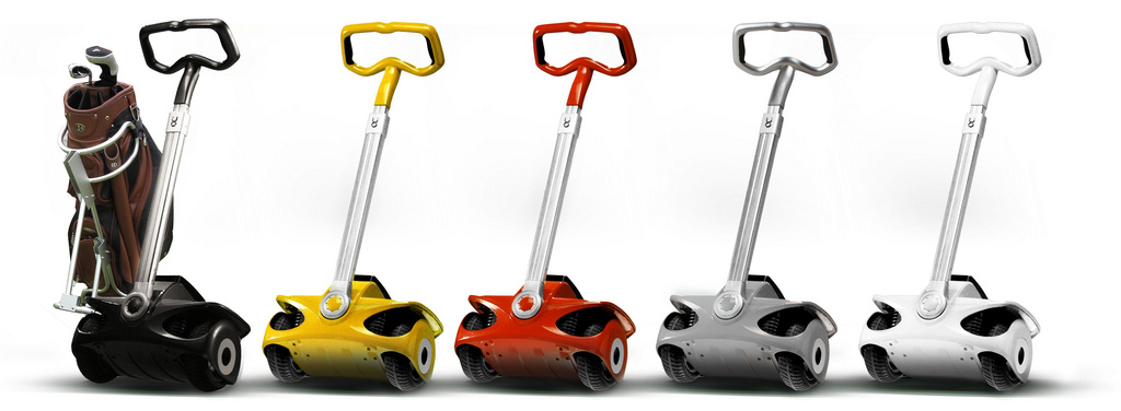 many colors of the personal electric transporters